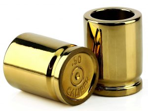 .50 Caliber Bullet Casing Shot Glasses