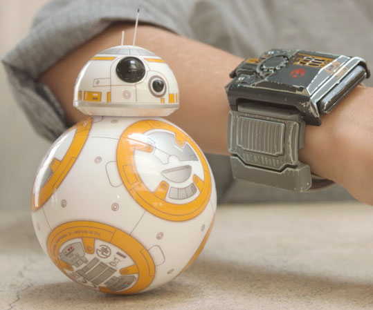 App Enabled BB-8 Force Band Control