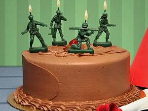 Army Men Candles