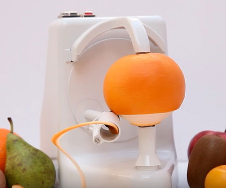 Automatic Fruit Peeling Machine 1