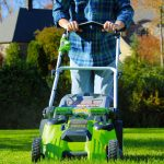 Battery Powered Lawn Mower 1