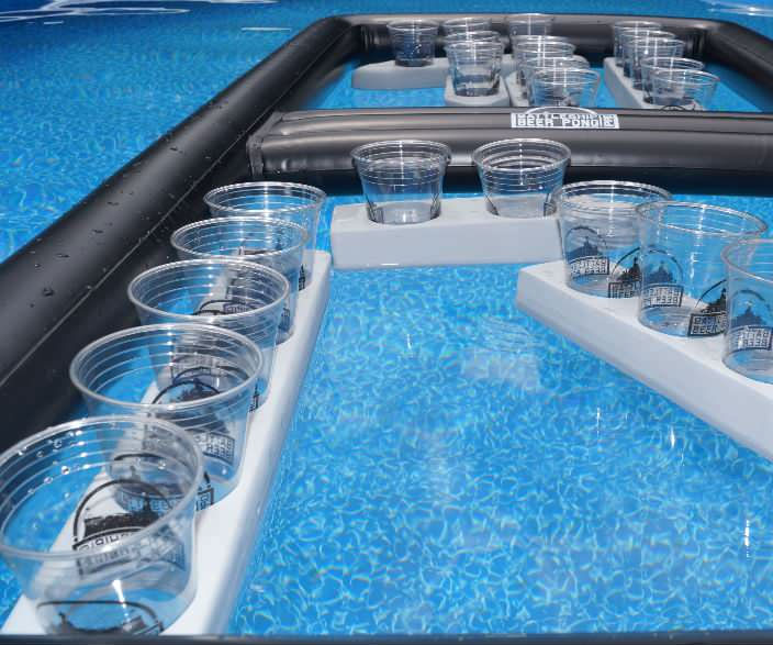 Battleship Floating Beer Pong 1
