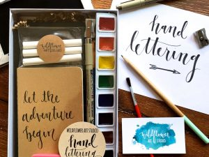 Beginners Hand Lettering Kit 1