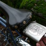 Bicycle Seat Mounted Flask Carrier 1