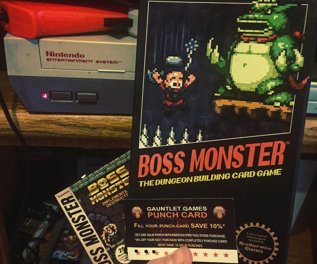 Boss Monster Dungeon Build Card Game 2