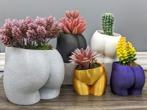 Butt Shaped Plant Pot