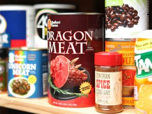 Canned Dragon Meat 1