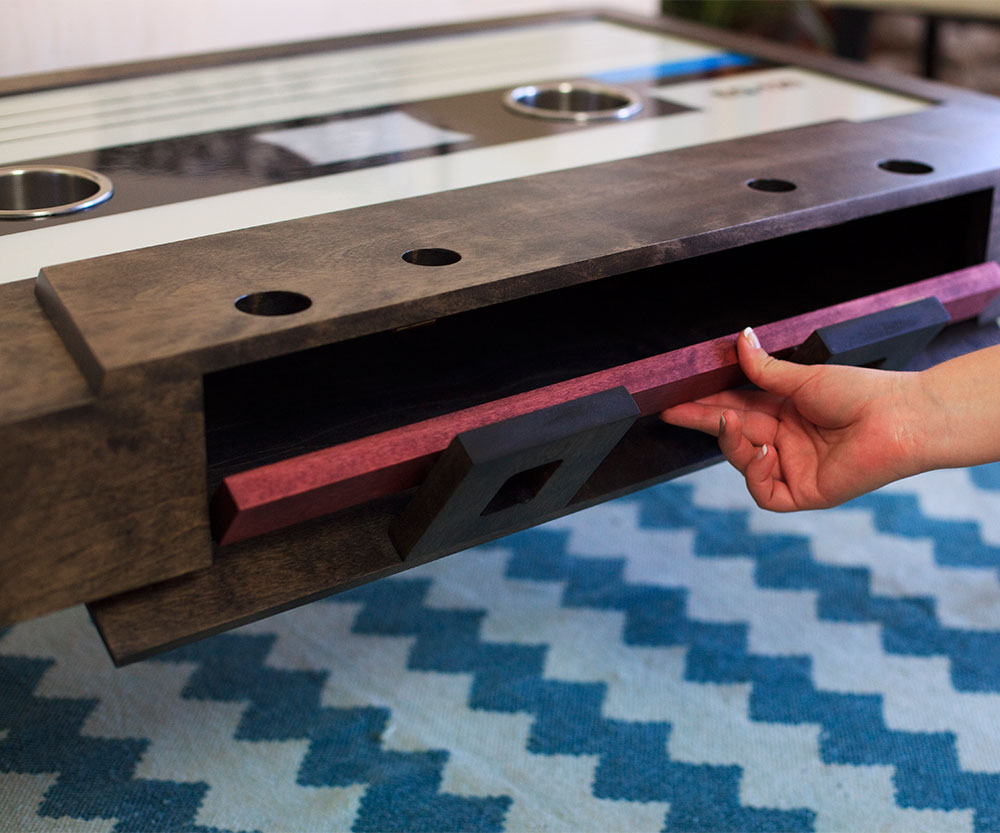Cassette Tape Coffee Table 1