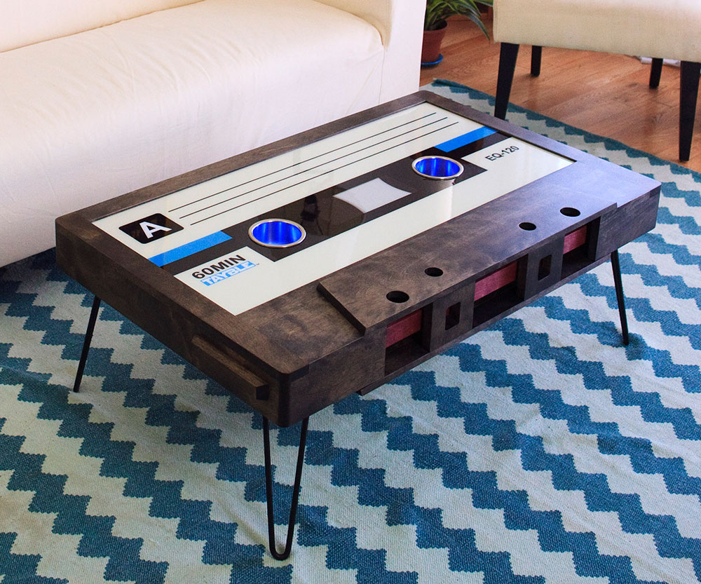 Cassette Tape Coffee Table 2