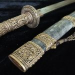 Chinese Damascus Steel Sword