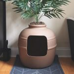 Clay Planter Hidden Cat Litter Box 2