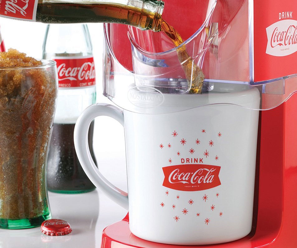 Coca-Cola Frozen Slushy Machine