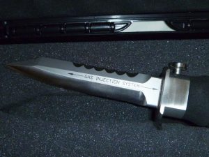 Compressed Gas Injection Knife 1