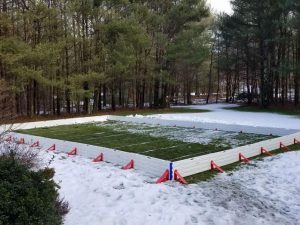 Diy Backyard Ice Rink 1