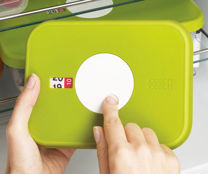 Datable Lid Storage Contaner