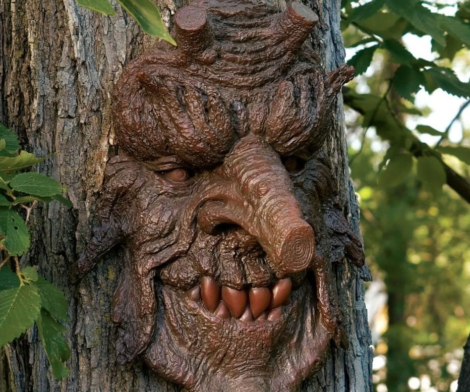 Devilish Tree Face
