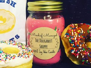 Doughnut Scented Candle