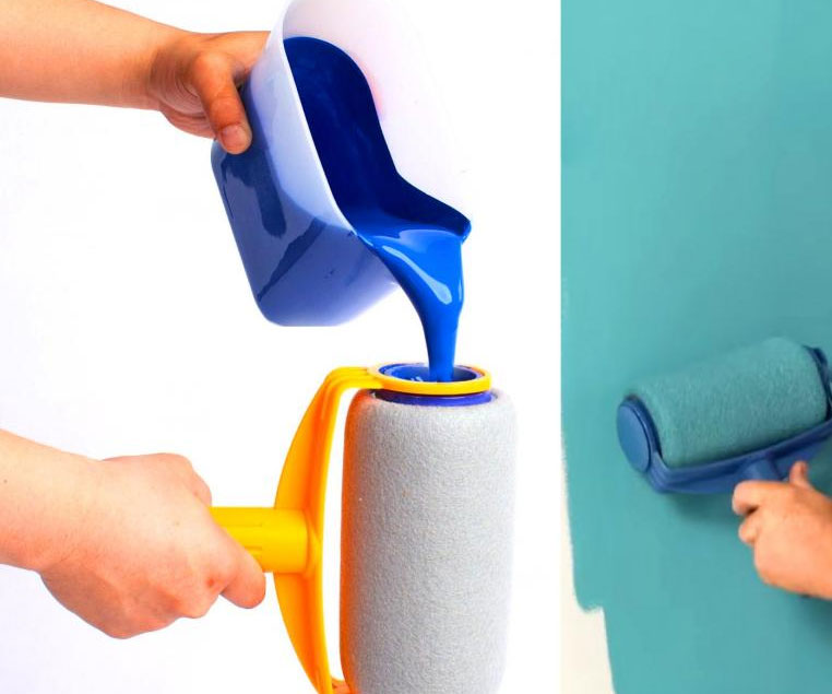 Drip-Free Paint Roller