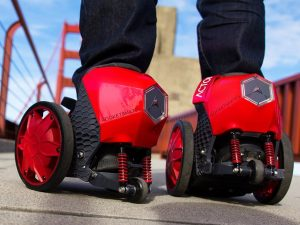 Electric Motorized Shoes 1