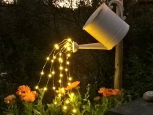 Fairy Light Waterfall Watering Can