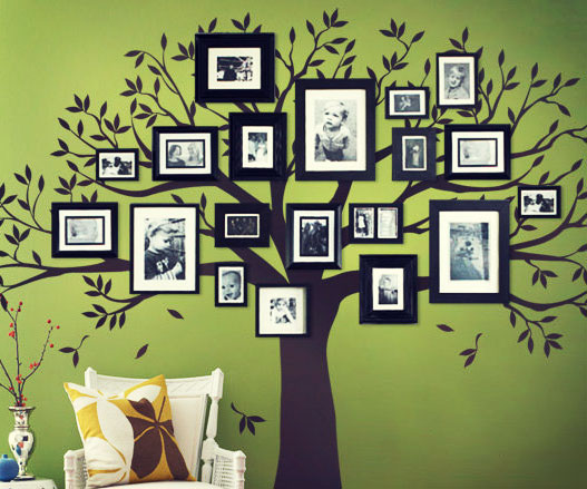 Family Tree Wall Decal 1