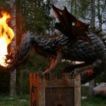 Fire Breathing Dragon Sculpture 2
