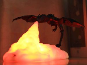 Fire Breathing Dragon Table Lamp 1