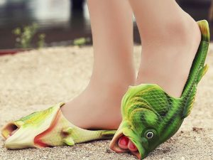 Fish Slippers 1