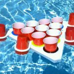 Floating Beer Pong Set