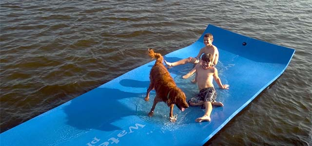 Floating Water Mat 1