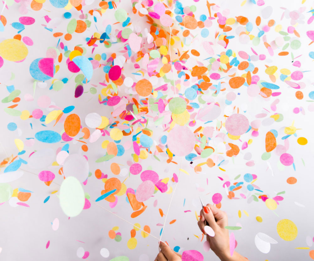 Giant Confetti Filled Balloon 1