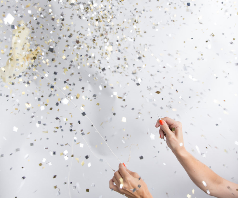 Giant Confetti Filled Balloon 2