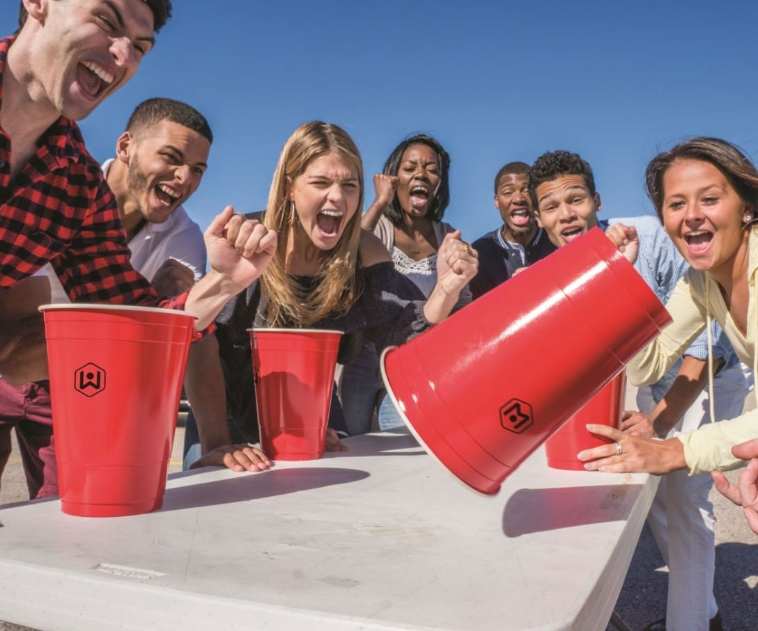 Giant Flip Cup Cups 2