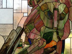 Halo Master Chief Stained Glass 1
