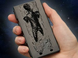 Han Solo Business Card Case