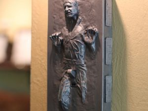 Han Solo Frozen Light Switch Cover