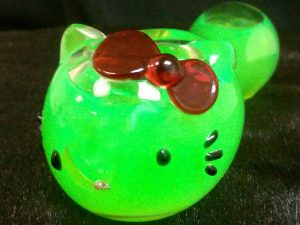 Hello Kitty Glass Pipe