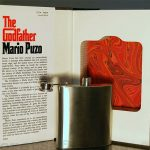 Hollowed Out Book And Flask 1
