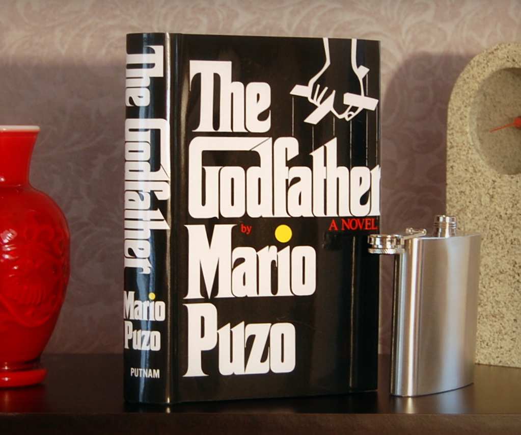 Hollowed Out Book And Flask 2