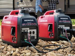 Honda Super Quiet Portable Generators