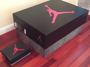 Jordan Retro Shoe Storage Box 1