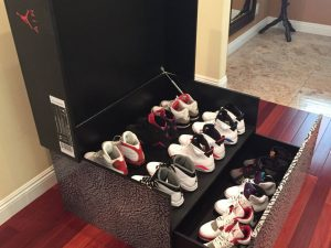 Jordan Retro Shoe Storage Box