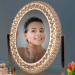 Led Vanity Dimmable Mirror 1