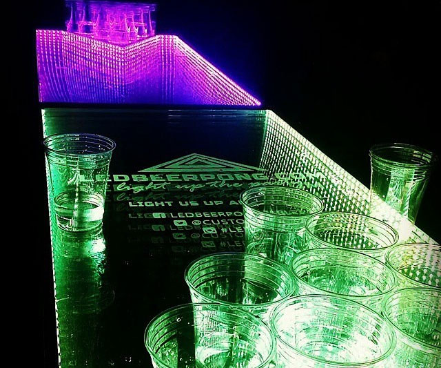 Light Up Musical Beer Pong Table 2