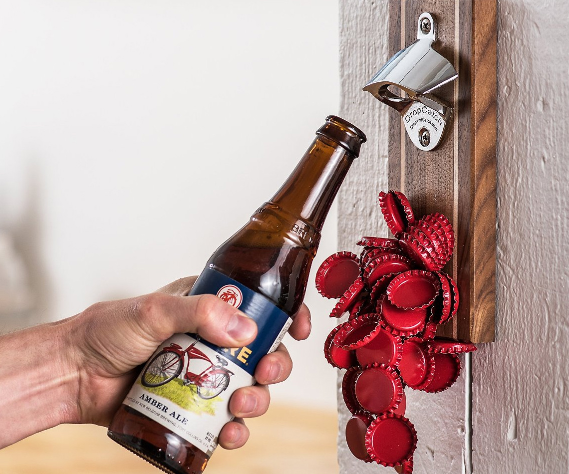 Magnetic Bottle Opener And Catcher 1