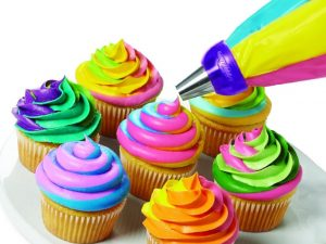 Multi-Color Swirl Icing Coupler