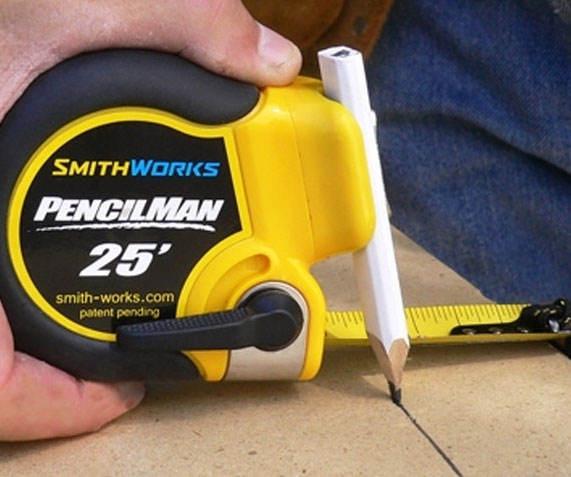 One-Handed Marking Tape Measure