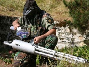 Paintball Minigun 1