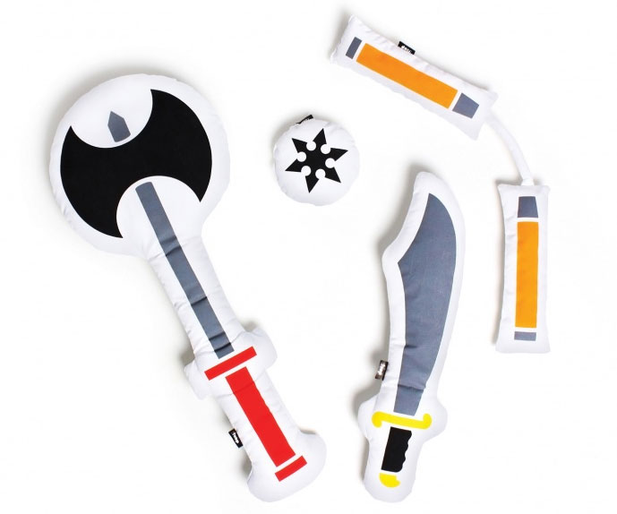 Pillow Fight Weapons 1