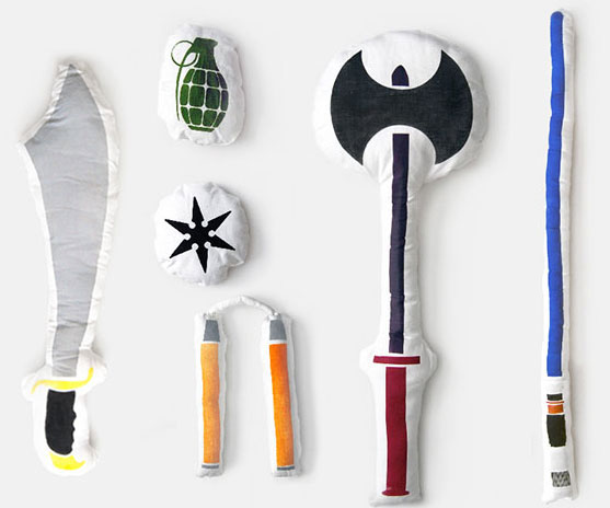 Pillow Fight Weapons